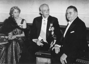 07 Johan-Olov och Gustav V 1938